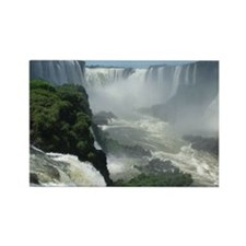 Iguazu falls 3 Rectangle Magnet