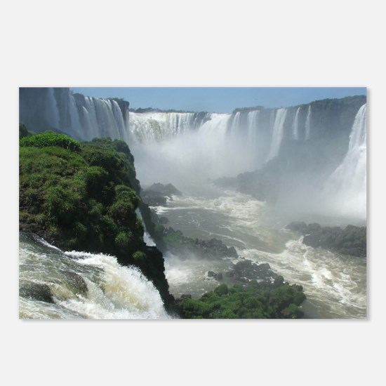 Iguazu falls 3 Postcards (Package of 8)