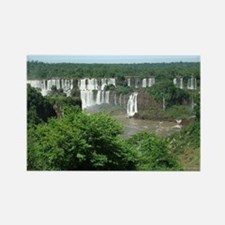 Iguazu falls 4 Rectangle Magnet
