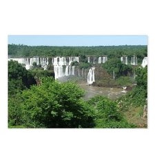 Iguazu falls 4 Postcards (Package of 8)