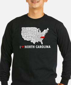 I Love North Carolina T