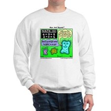 Amoeba Math Cartoon Sweatshirt