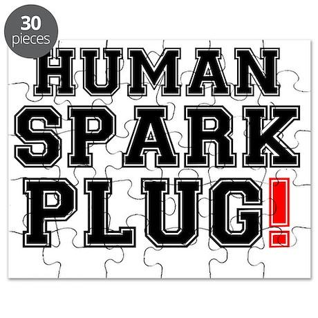 HUMAN SPARK PLUG! Puzzle