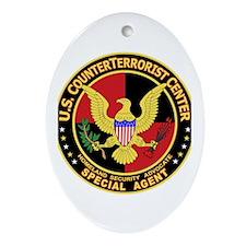 U.S. Counter Terrorist Center Oval Ornament