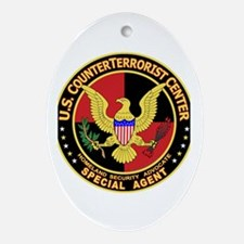 U.S. Counter Terrorist Center Oval Ornament