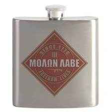 Come and Take It (Red and Gold Diamond) Flask