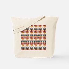 Jewelled Owls Tote Bag
