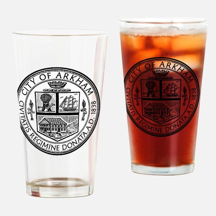 Arkham Drinking Glass