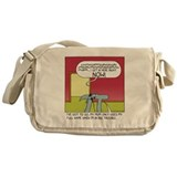 Humor Canvas Messenger Bags