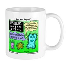 Amoeba Math Cartoon Mug