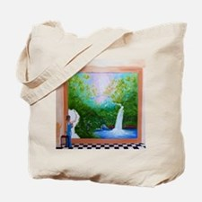 The Artist Shower Curtain Tote Bag