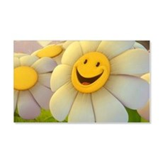 Smiling Daisy Wall Decal