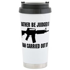 Judged by 12 Travel Coffee Mug