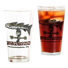 Philadelphia Fishtown Souvenir Gift Drinking Glass