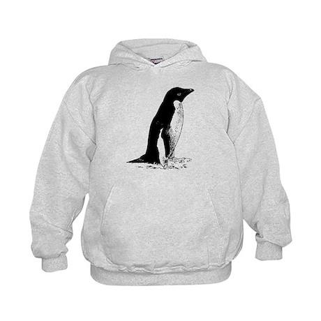 Penguin Sketch Kids Hoodie