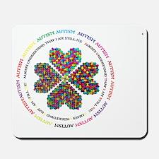 Autism Poem Logo Mousepad