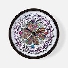 Autism I Am Me Wall Clock