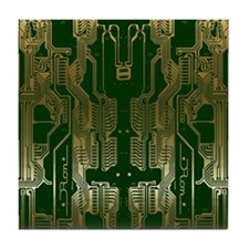 Circuitboard1 Tile Coaster