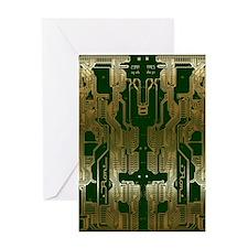 Circuitboard1 Greeting Card