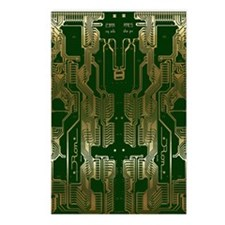 Circuitboard1 Postcards (Package of 8)