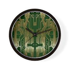 Circuitboard1 Wall Clock