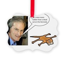 Blackhawks Dead Cat On The Kenned Ornament