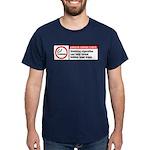smoking reveals hidden laser traps Dark T-Shirt