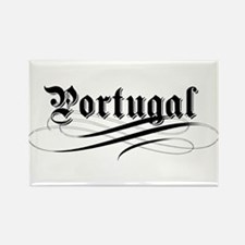 Portugal Gothic Rectangle Magnet
