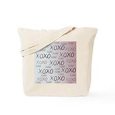 md heart xoxo mixed Tote Bag