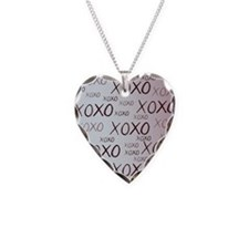 md heart xoxo mixed Necklace