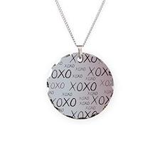 md heart xoxo mixed Necklace