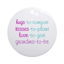 grandma to be Ornament (Round)