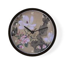 lap_wooden  Wall Clock