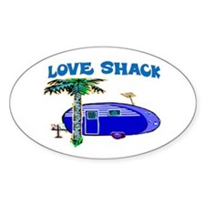 LOVE SHACK Bumper Stickers
