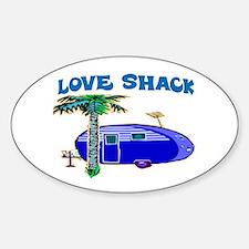 LOVE SHACK Bumper Stickers
