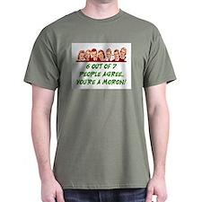 YOU'RE A MORON! T-Shirt