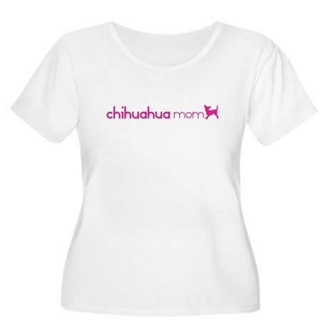 Chihuahua Mom Women's Plus Size Scoop Neck T-Shirt