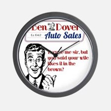 Funny Used Car Sales Like It In The Bro Wall Clock