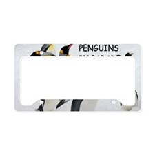 Marching on License Plate Holder