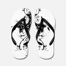 Celtic Cross Flip Flops