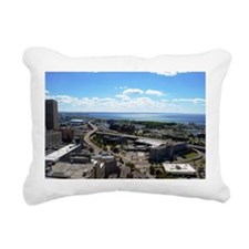 Unique New york skyline Rectangular Canvas Pillow