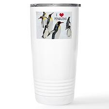Love the Penguins Travel Mug