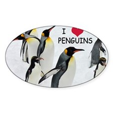 Love the Penguins Decal