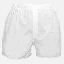 White Silkie Chicken Boxer Shorts