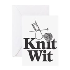 Knit Wit Greeting Card