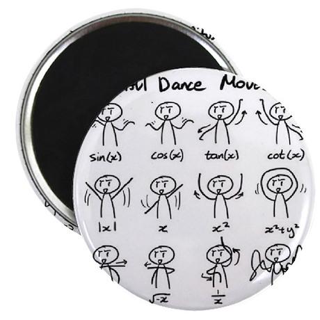 Beautiful (math) dance moves Magnet