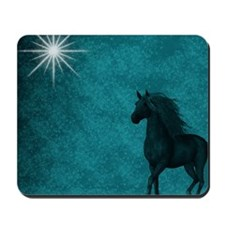 md horse twilight Mousepad