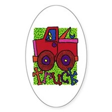 Truck Oval Decal