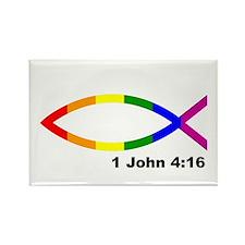 Jesus Fish Magnet