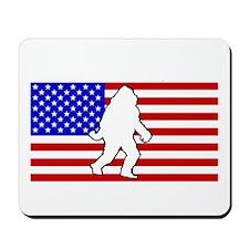 Americuh! Squatch Yeah! Mousepad